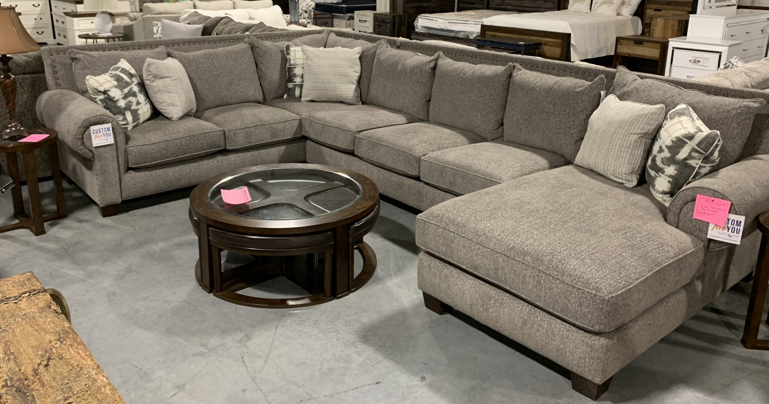 a sectional by England